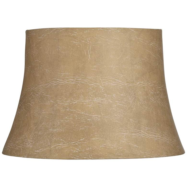 Faux Leather Drum Lamp Shade 12x16x11 Spider