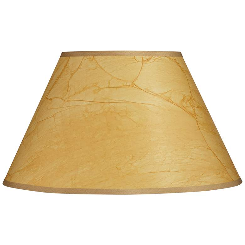 Crinkle Paper Empire Lamp Shade 10x20x12 (Spider)
