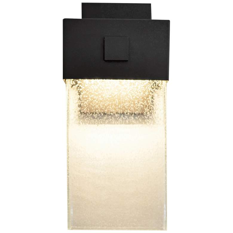 "Logan 14"" High Textured Bronze LED Outdoor Wall Light"