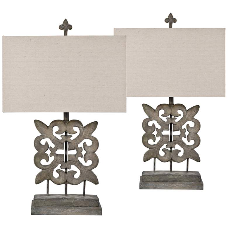 Debra Modern Table Lamp Set Of 2 9x126 Lamps Plus