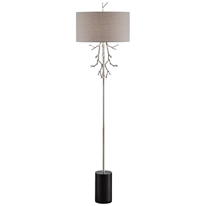 Crestview Collection Rowan Silver Tree Branch Floor Lamp
