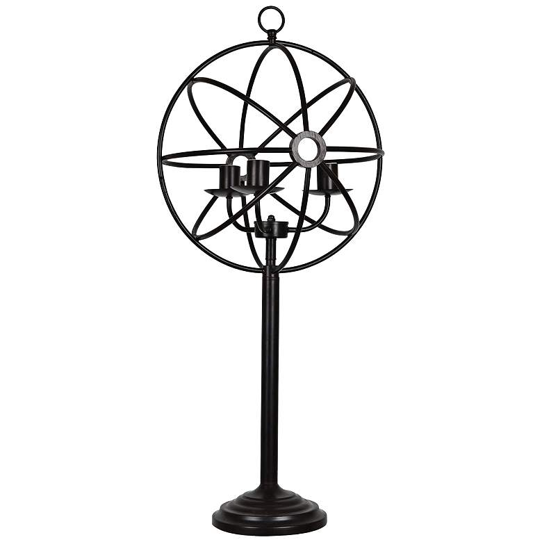 Crestview Collection Global Oiled Bronze Metal Table Lamp