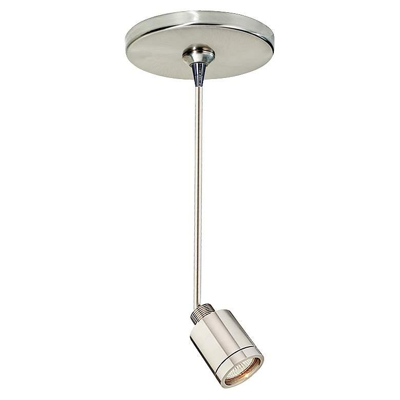 "Tellium 2 1/4"" Wide Satin Nickel Freejack Mini Pendant Light"