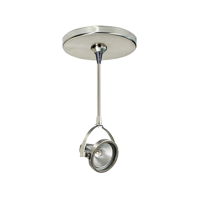 "John 3"" Wide Satin Nickel Adjustable Freejack Mini Pendant"