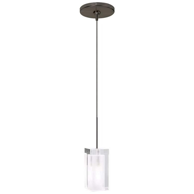 "Tech Lighting Solitude 2 1/2""W Bronze Freejack Mini Pendant"