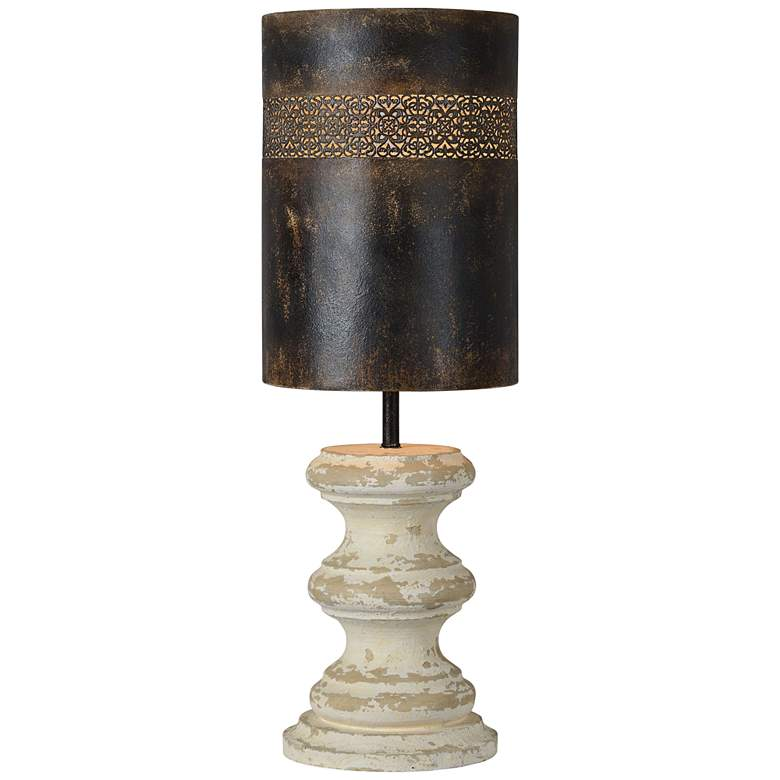 Forty West Gibson Cottage White Table Lamp
