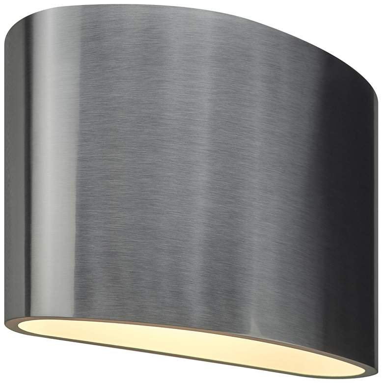 """Bruck Encore 5 1/4"""" High Brushed Chrome LED Wall Sconce"""