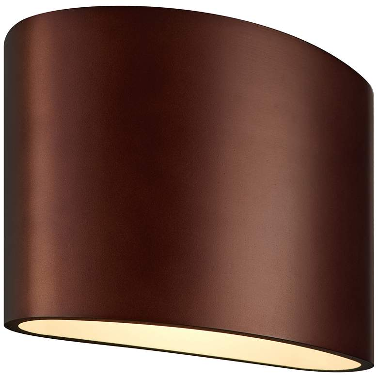 "Bruck Encore 5 1/4"" High Bronze LED Wall"