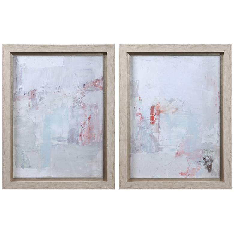 """Barely There 27 3/4""""H 2-Piece Framed Printed Wall Art Set"""