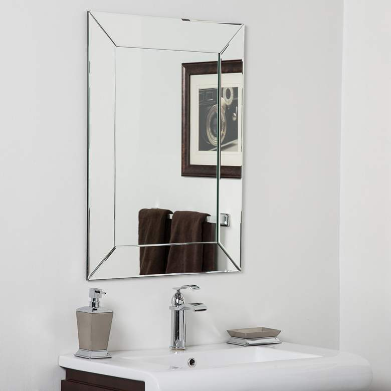 "Avie 23 1/2"" x 31 1/2"" Rectangular Bathroom"