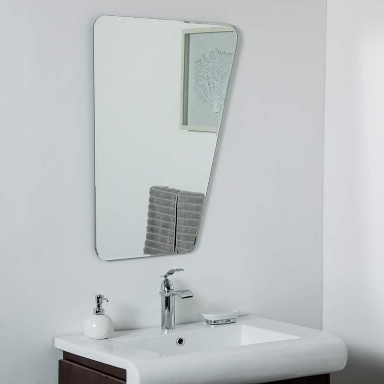"Alisson at Wonderland 23"" x 31 1/2"" Novelty Wall Mirror"