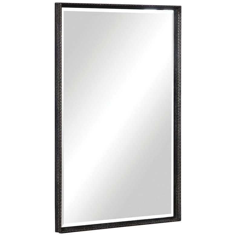 "Uttermost Callan Bronze 20 1/4"" x 30 1/4"" Vanity Wall Mirror"