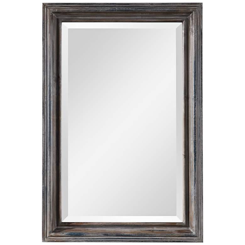"""Gulliver Distressed Blue 21 1/4"""" x 32 3/4"""" Vanity Mirror"""