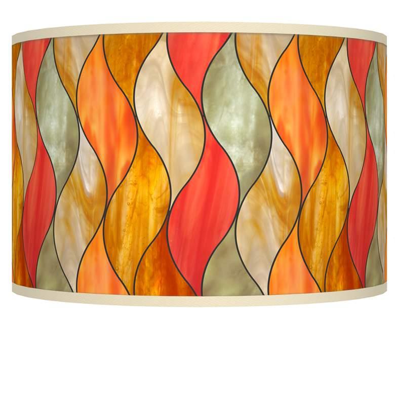 Flame Mosaic Giclee Shade 12x12x8.5 (Spider)