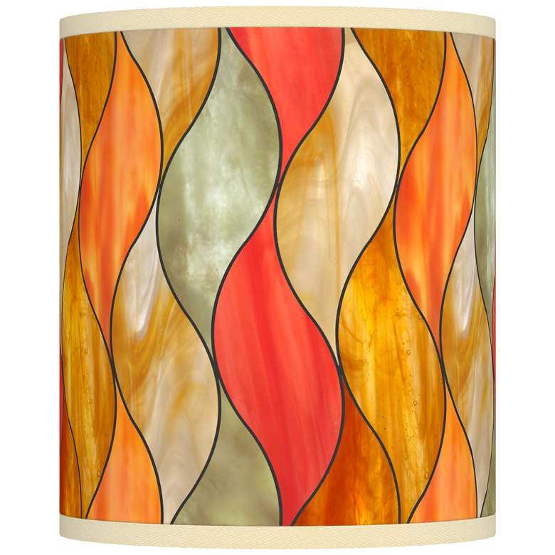 Flame Mosaic Giclee Shade 10x10x12 (Spider)