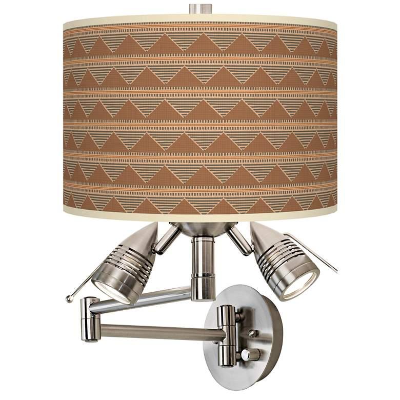 Desert Canyon Giclee Plug-In Swing Arm Wall Lamp