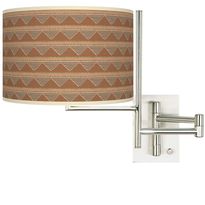 Tempo Desert Canyon Plug-in Swing Arm Wall Lamp