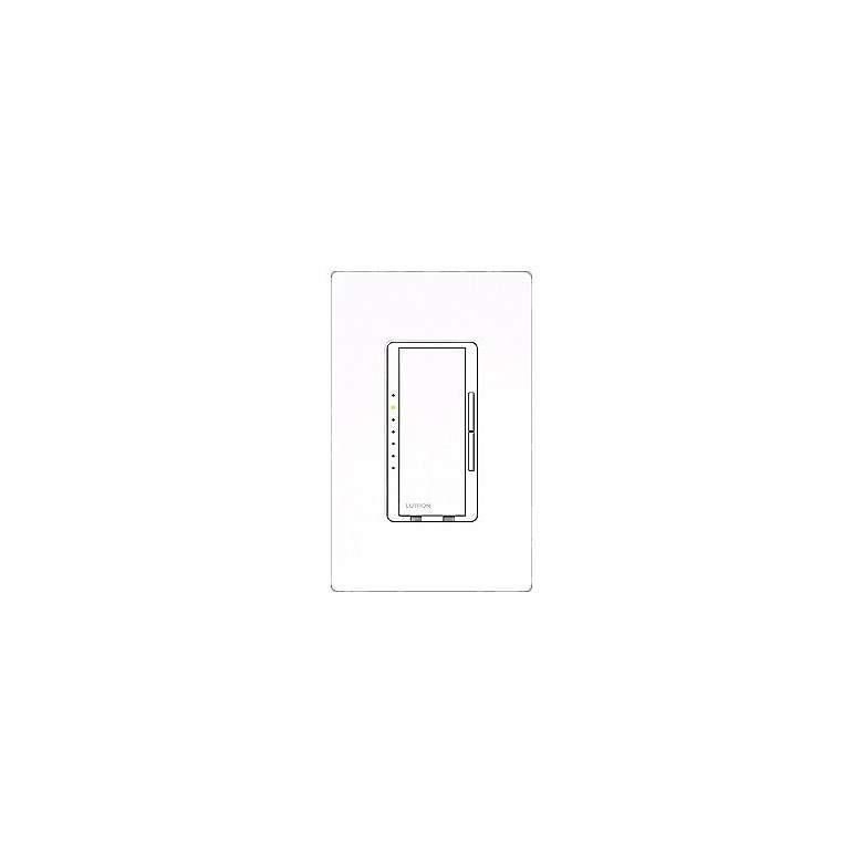 Lutron Maestro White 1000 Watt Preset Single Pole