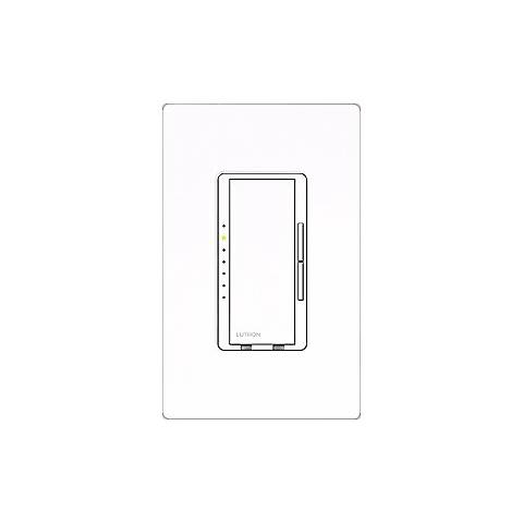 Lutron Maestro White 1000 Watt Preset Single Pole Dimmer