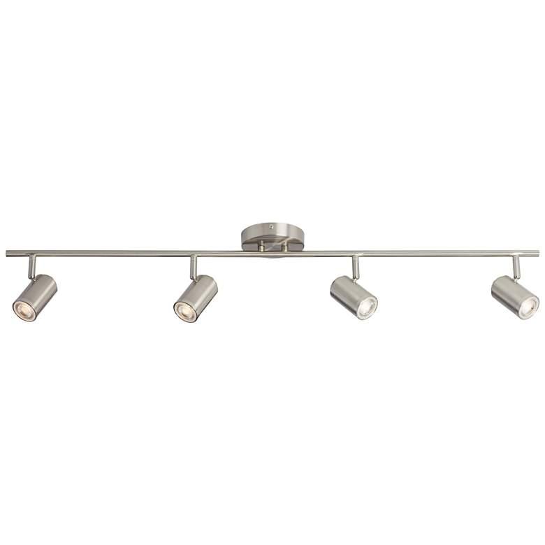 Pro Track Vester 4-Light Brushed Nickel LED Track Fixture