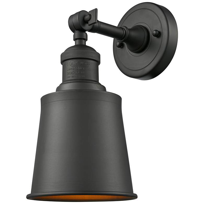 """Addison 11"""" High Oil-Rubbed Bronze Adjustable Wall Sconce"""
