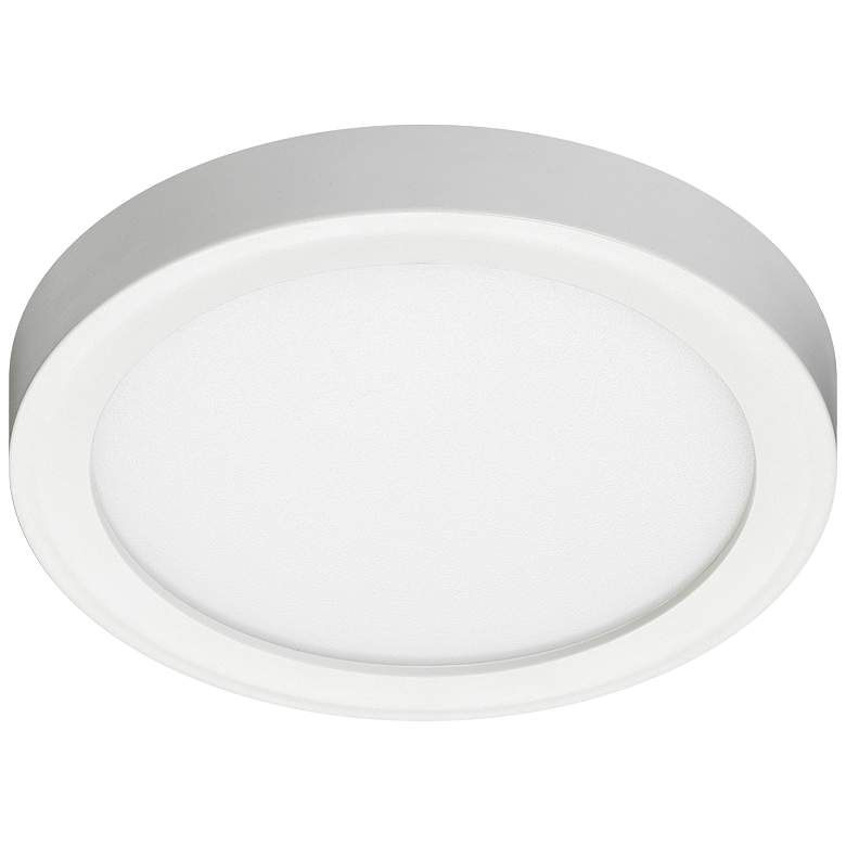 "Juno Slim Form 11"" White LED Flush Mount"
