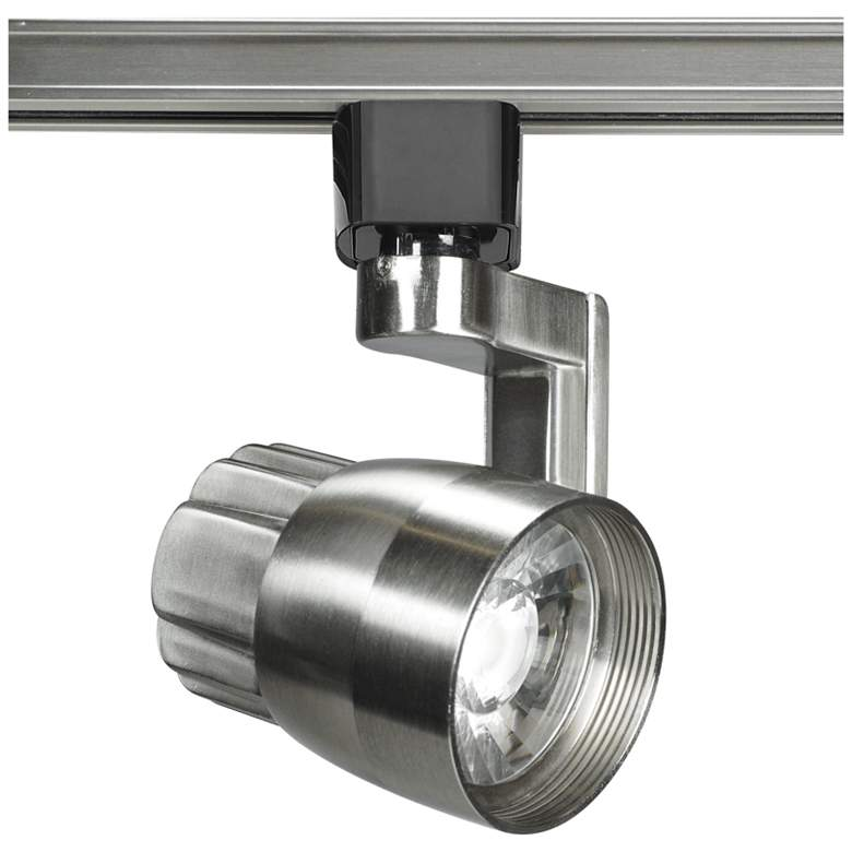 Nuvo Brushed Nickel Angle Arm 24-Degree LED Track Head
