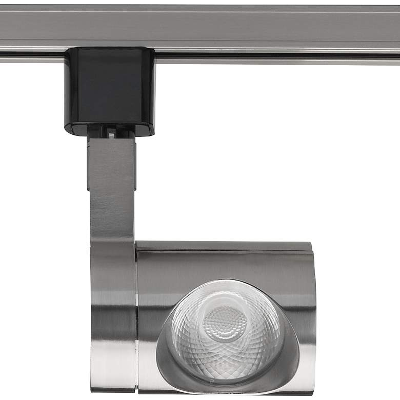 Nuvo Brushed Nickel Pipe 24-Degree LED Track Head
