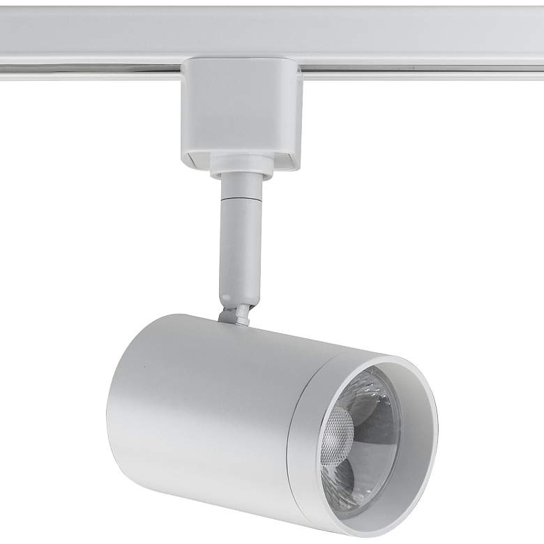 Nuvo White Cylinder 24-Degree LED Track Head