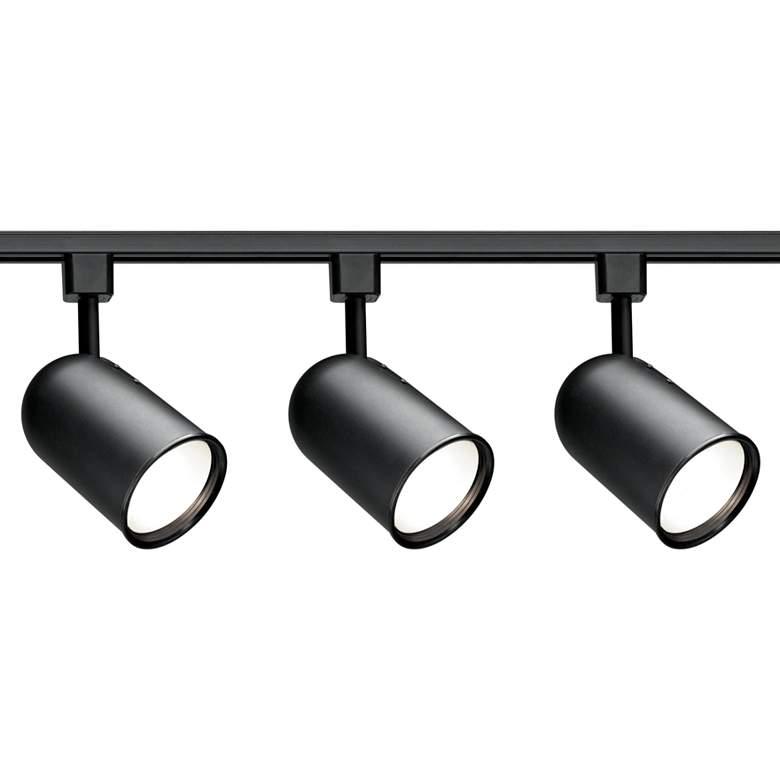Nuvo 3-Light Black Bullet Cylinder Head Track Kit