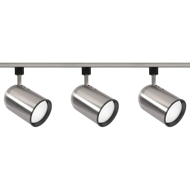 Nuvo 3-Light Brushed Nickel Bullet Cylinder Head Track