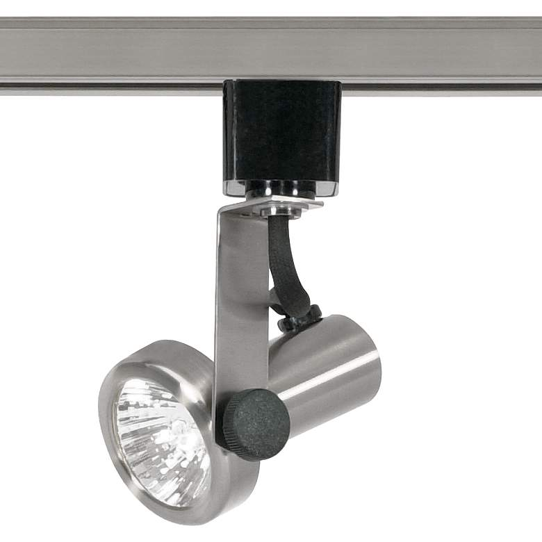 Nuvo Brushed Nickel MR16 Gimbal Ring Track Head