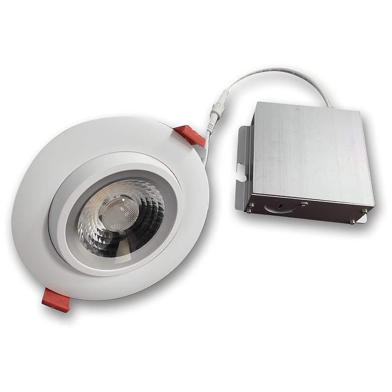 """MicroTask 4"""" Gimbal 3000K 11W Canless LED Downlight"""