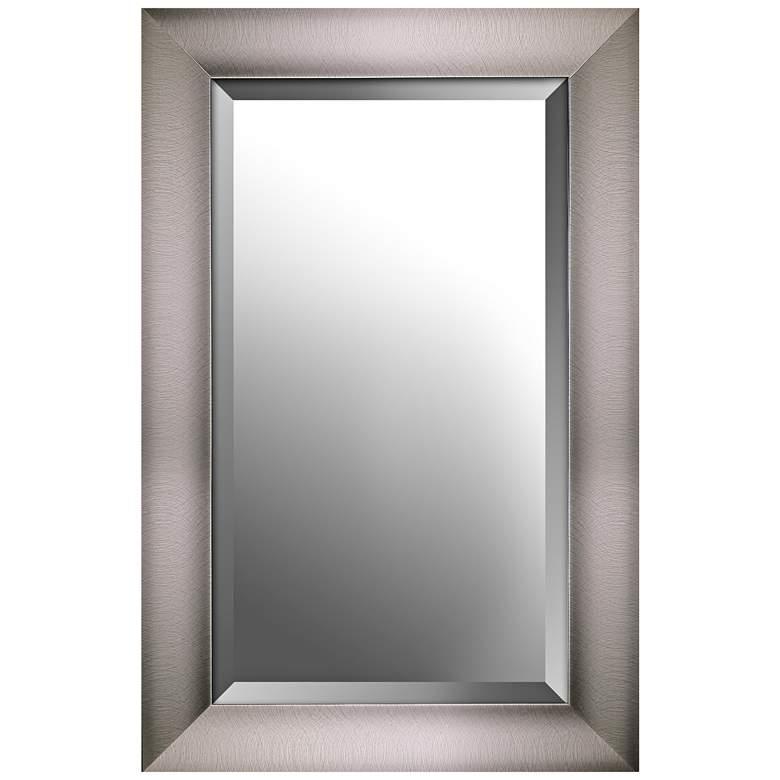 "Northwood Distressed Silver 22 1/2"" x 34 1/2"" Wall Mirror"
