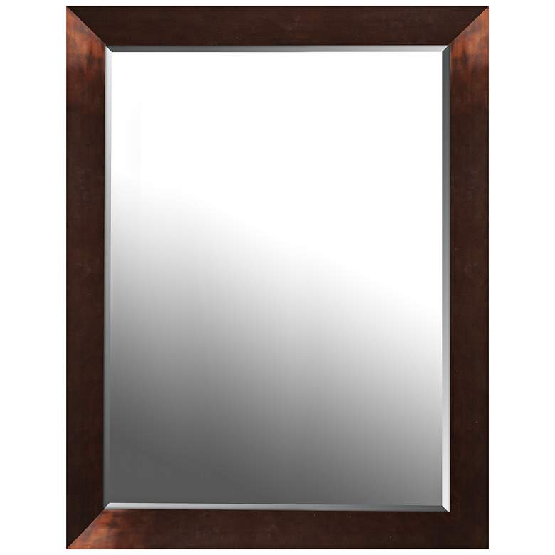 "Northwood Copper Gloss 26 1/2"" x 34 1/2"" Wall Mirror"