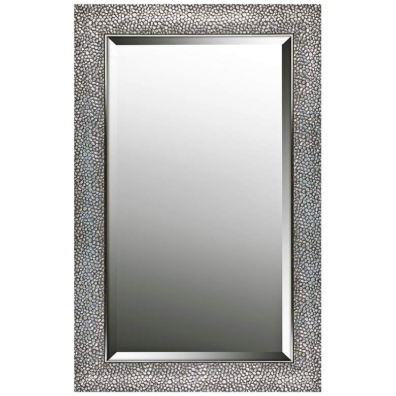 """Northwood Patterned Silver 21 1/4"""" x 33 1/4"""""""