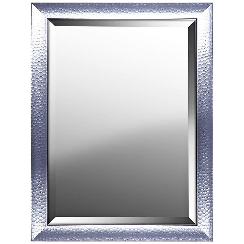 "Northwood Silver Gloss 25 1/4"" x 33 1/4"" Wall Mirror"