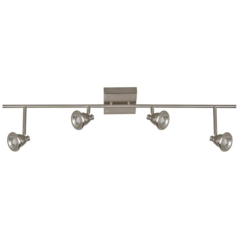 Berlin 4-Light Satin Nickel LED Track Fixture