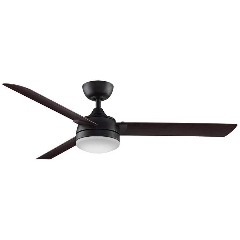 """56"""" Fanimation Xeno Dark Bronze Wet LED Ceiling Fan"""