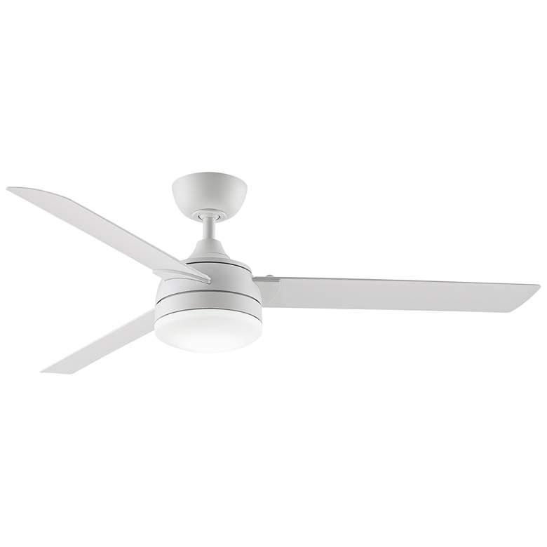 "56"" Fanimation Xeno Matte White Wet LED Ceiling Fan"