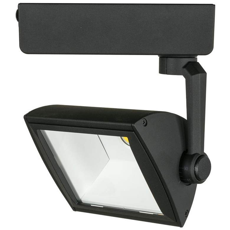 Jesco Black 30W LED Wall Washer Track Head for Halo Systems