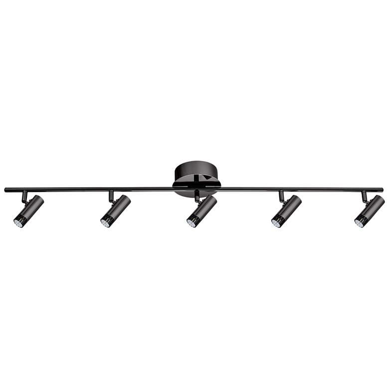 Eglo Lianello 5-Light Black Chrome LED Track Fixture