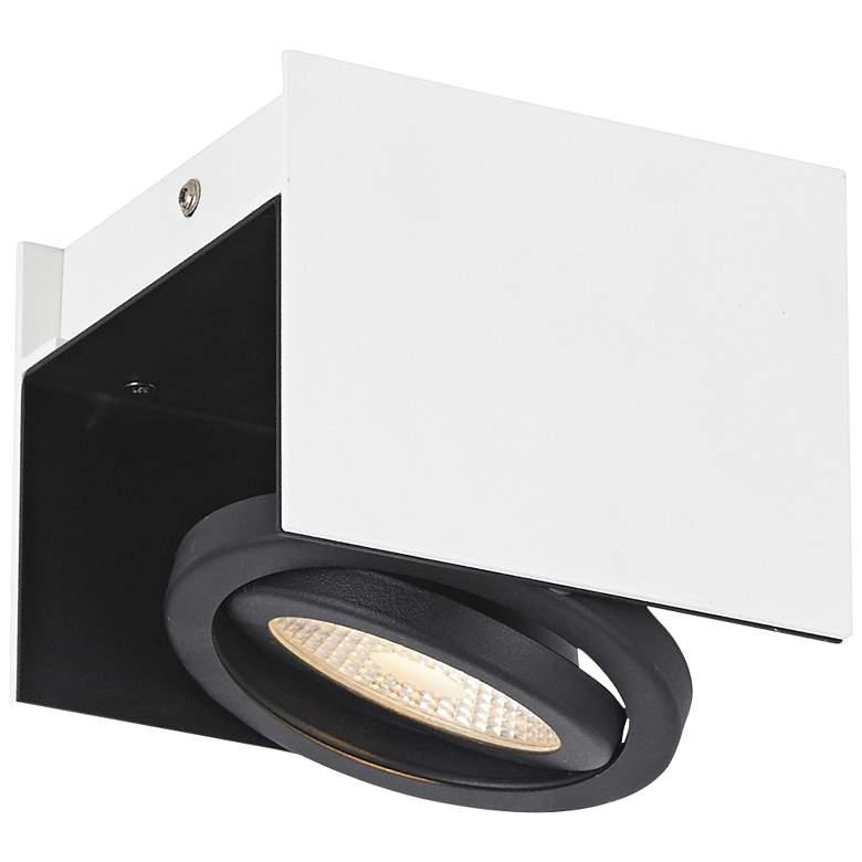Eglo Vidago 1-Light White and Black LED Track