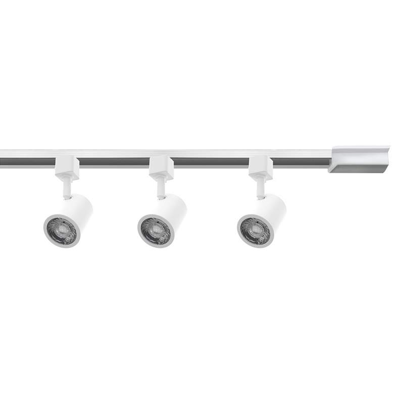WAC Charge 3-Light White LED Halo Track Light Kit