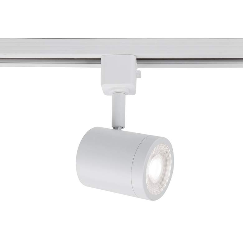 WAC Charge White Cylinder LED Track Head for Halo Systems