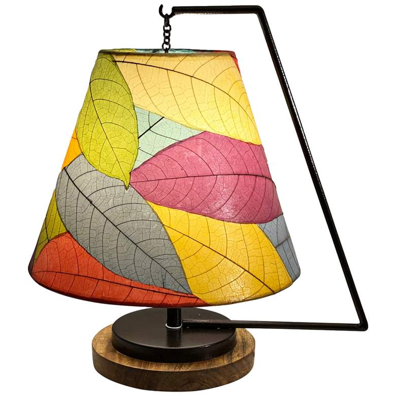 """Eangee Pendulum 17"""" High Multi-Color Accent Table Lamp"""