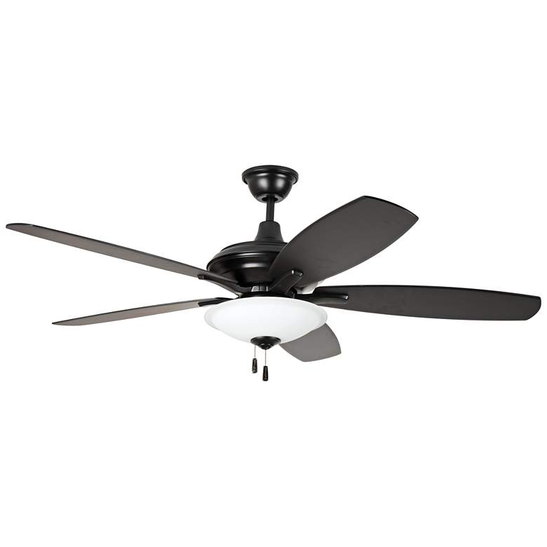 "52"" Craftmade Jamison Flat Black LED Ceiling Fan"