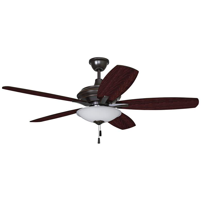 """52"""" Craftmade Jamison Gilded Oiled Bronze LED Ceiling Fan"""