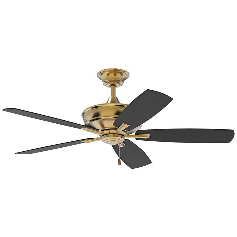 """56"""" Craftmade Sloan Satin Brass Ceiling Fan"""