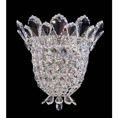 "Schonbek Trilliane Collection 10 1/2"" High Crystal Sconce"